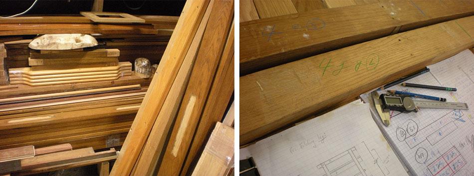 Preparing reclaimed wood