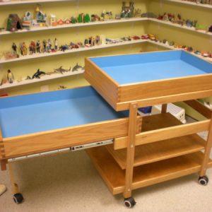 sand tray cart