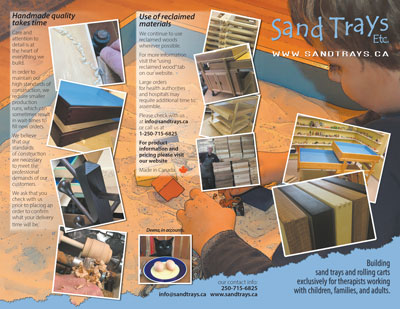 SandTrays Flyer